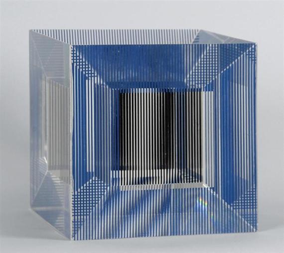 Jesús Rafael Soto, 'Cube with Ambigous Space', 1981.
