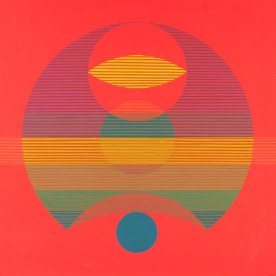 Stanislaus Ostoja-Kotkowski, 'The Planet', 1966, plastic collage and synthetic polymer paint on plywood, 122 x 122 cm, National Gallery of Victoria, Melbourne. The Joseph Brown Collection. Presented through the NGV Foundation by Dr Joseph Brown AO OBE, Honorary Life Benefactor, 2004 2004.20. © Estate of Stan Ostoja.