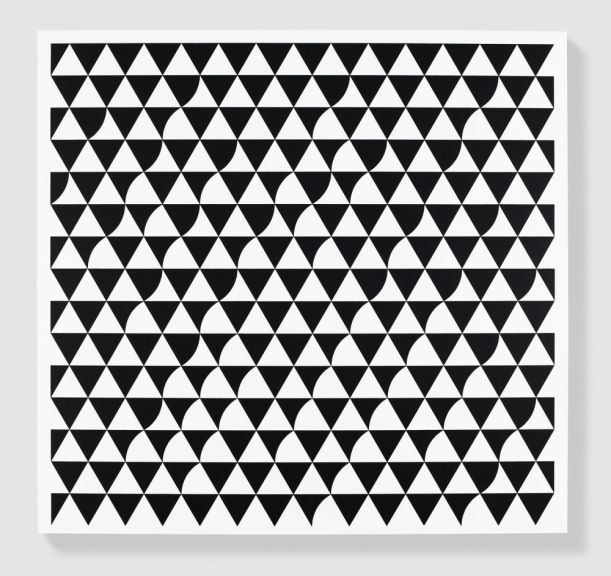 Bridget Riley, 'Rustle', 2015, acrylic on APF polyester support, 186,7 x 196,5 cm.