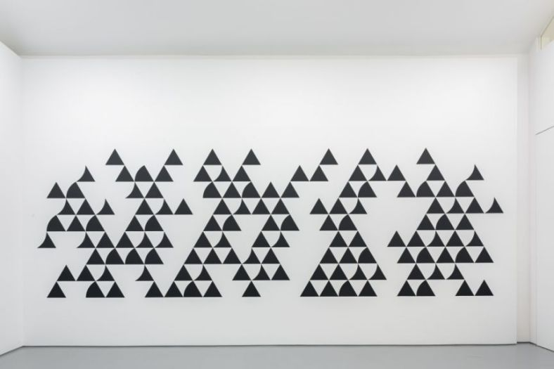 Bridget Riley, 'Quiver 3', 2014, wallpainting.