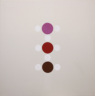 Thomas Downing, 'Kissii', 1972, Acrylic on canvas, 50 x 50 in (127 x 127 cm).