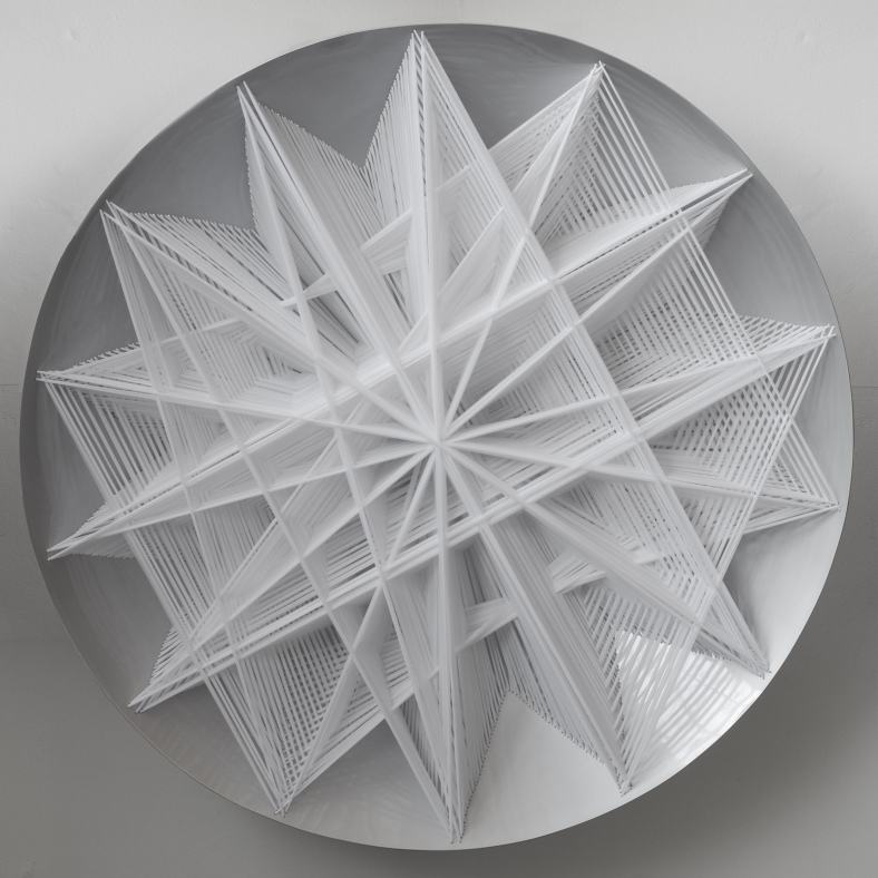 Emilio Cavallini White - Star-like Structural Bifurcation 1990