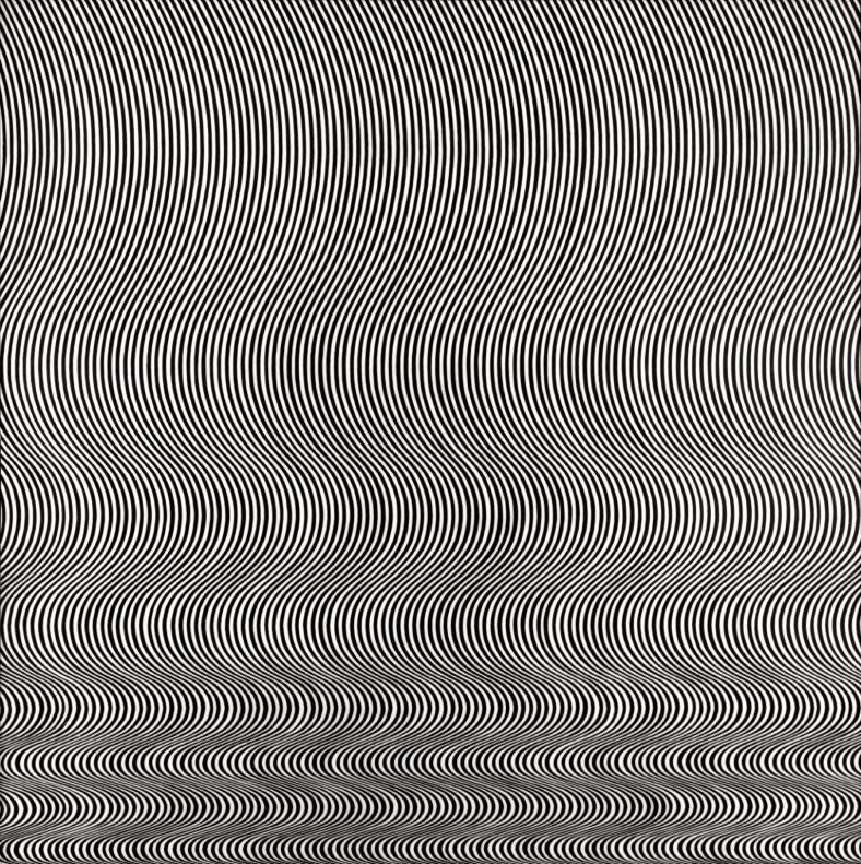Bridget Riley, 'Fall', 1963, Purchased 1963. Source: www.tate.org.uk/art/work/T00616
