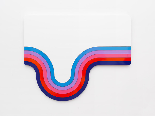 Greg Bogin Always happy, 2015 synthetic paint and urethane on canvas
