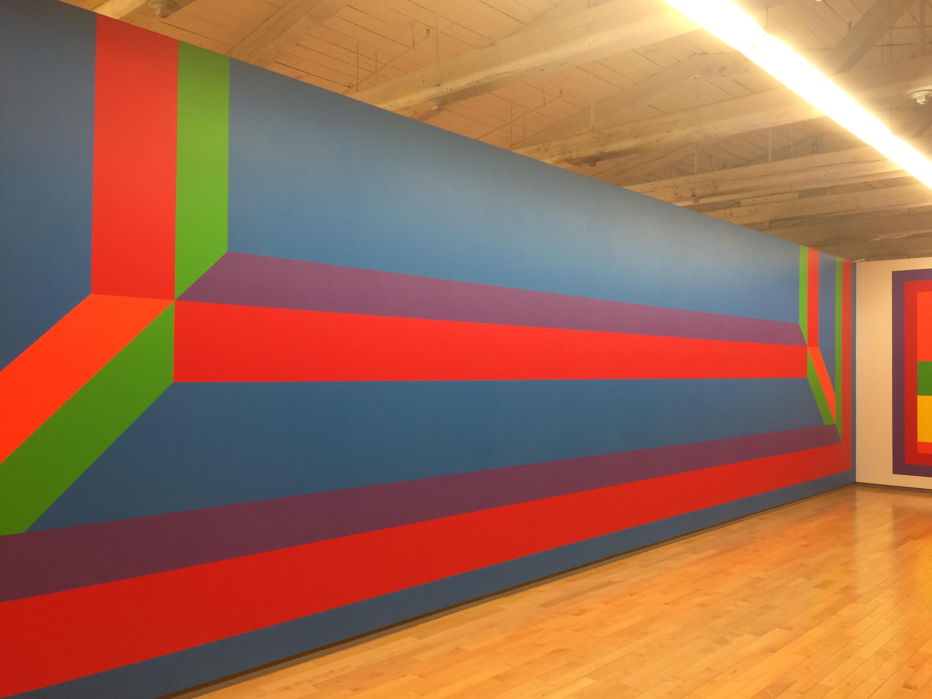 Exhibition Sol Lewitt At Mass Moca Part One Color The Responsive I