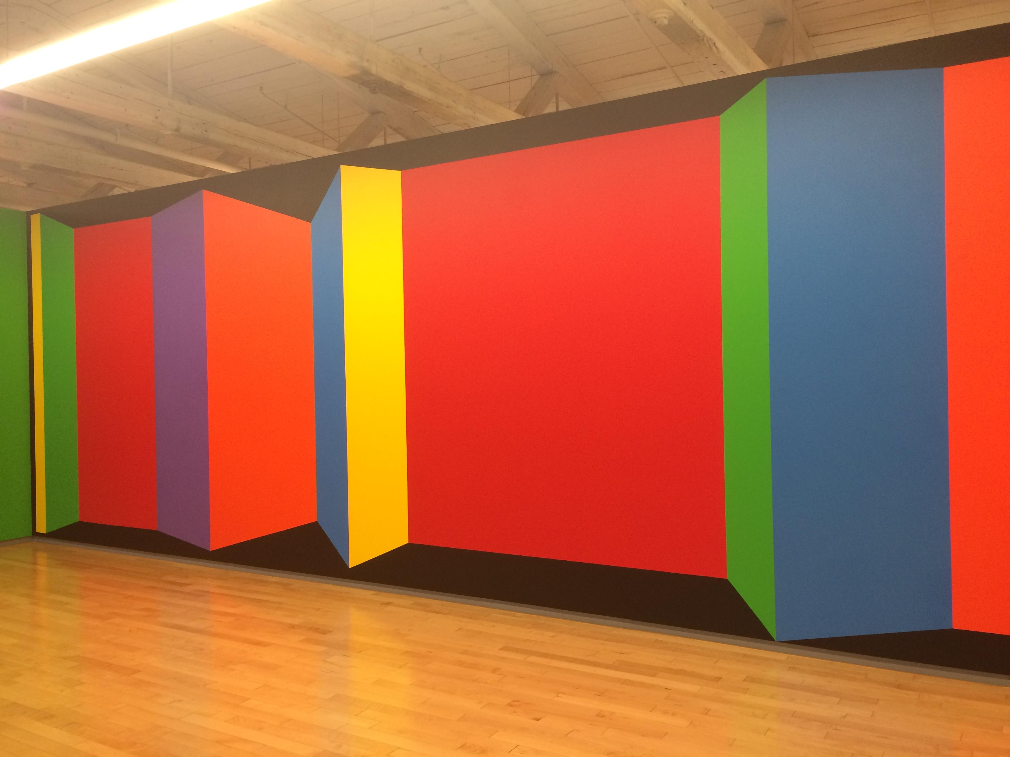 Exhibition Sol Lewitt At Mass Moca Part One Color