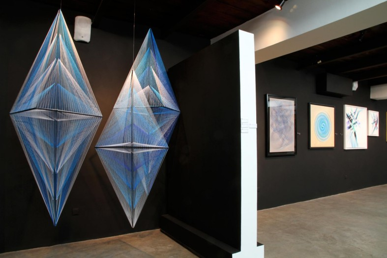 Sensitive Eye – Op art and kinetic art exhibition at David Bloch Gallery Marrakech