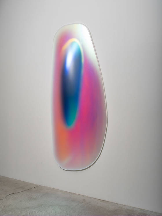 GISELA COLÓN, Hyper Ellipsoid (Iridescent Blue), 2014