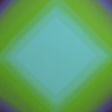 Ruth Pastine, Inevitability of Truth 1-S7272 Diamond (Red Green), 2015,