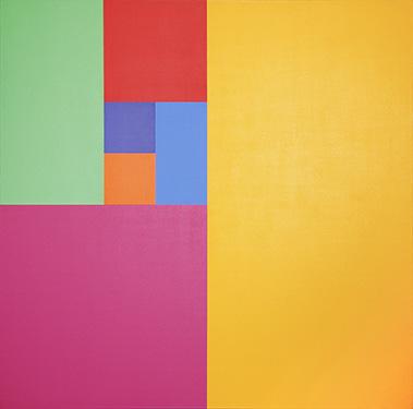 Mario Yrisarry, Septenary Yellow , 1974