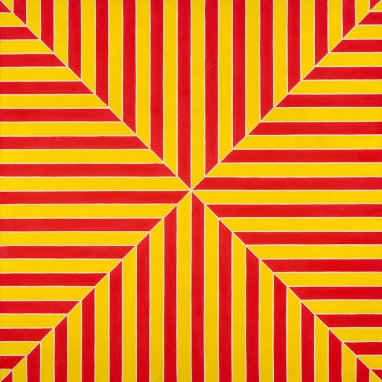 Frank Stella (b. 1936), Marrakech, 1964.