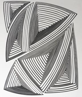 Elizabeth Gregory Gruen, Free Hand Allover Abstract
