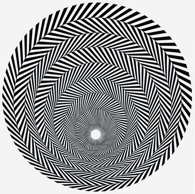 "Bridget Riley, ""Blaze 4"", 1964"
