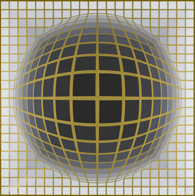 "Victor Vasarely, ""Re.Na II A"", 1968"
