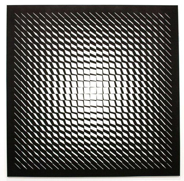 "JEAN-PIERRE YVARAL ""Variation Sur Le Carre"", 1959"